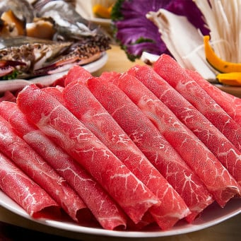 US Beef Prime Top Blade Hot Pot Sliced ~200g