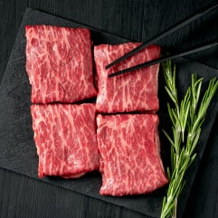 US Beef Prime Chuck Short Rib Boneless Hot Pot Sliced ~200g