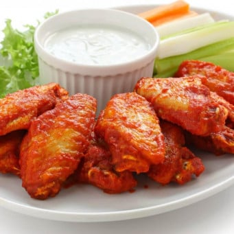Thai HS Roasted Buffalo Middle Wing 1kg
