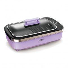 【Ready Stock】DAEWOO - Korean Electric Barbecue Plate Smokeless SK1 - Purple