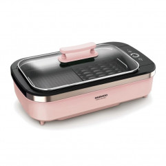 【Ready Stock】DAEWOO - Korean Electric Barbecue Plate Smokeless SK1 - Pink
