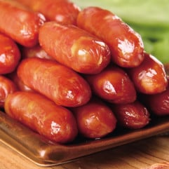 Taiwanese Sausage - Garlic 16pcs/pack, 245g