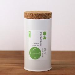 """Taiwan """"7teaHouse"""" - Alishan Green Tea 3g 14 bags/can"""