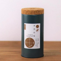 "Taiwan ""7teaHouse"" - Tungting Oolong Tea 100g/can"