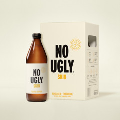 "New Zealand ""NO UGLY"" Wellness Tonic Drink - SKIN (Collagen+Enzogenol) Pineapple Flavor 250ml"
