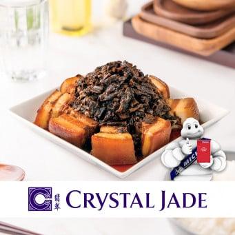 CRYSTAL JADE Braised Pork Belly with Dried Vegetable  350g