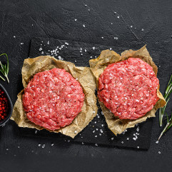 Japanese Wagyu Burger Patties (No Additives) 2pcs~260g